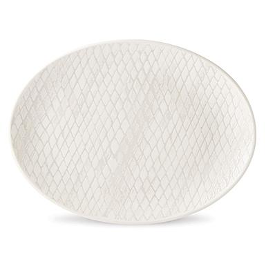 Lenox Textured Neutrals Dinnerware Slate Platter
