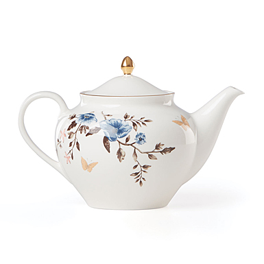 Lenox Sprig And Vine Dinnerware Teapot White