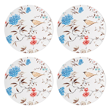Lenox Sprig And Vine Dinnerware Accent Plate White Set Of Four