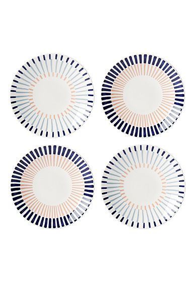 Kate Spade China by Lenox, Brook Lane Tidbit Plate Set Of Four