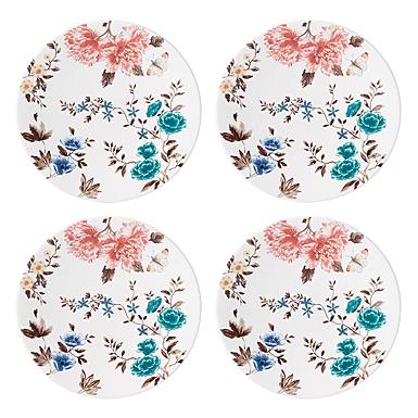 Lenox Sprig And Vine Dinnerware Dessert Plate White Set Of Four