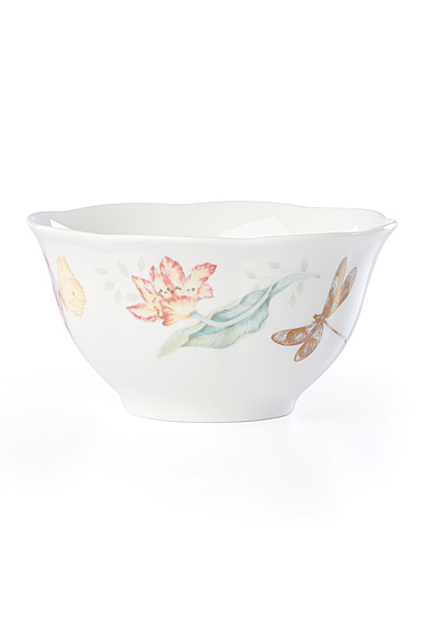 Lenox Butterly Meadow Gold Dinnerware Dragonfly Rice Bowl Gold