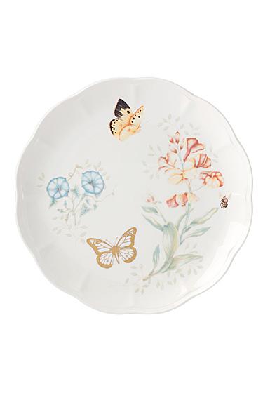 Lenox Butterly Meadow Gold Dinnerware Monarch Dinner Plate Gold