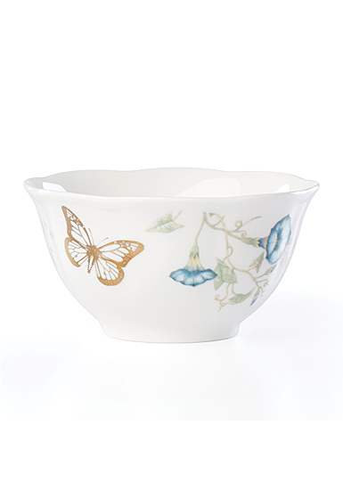 Lenox Butterly Meadow Gold Dinnerware Monarch Rice Bowl Gold