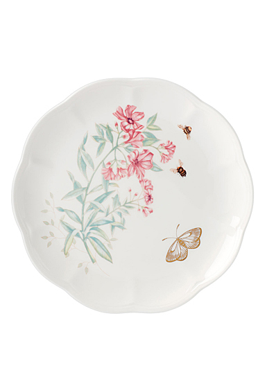Lenox Butterly Meadow Gold Dinnerware Tiger Accent Plate Gold