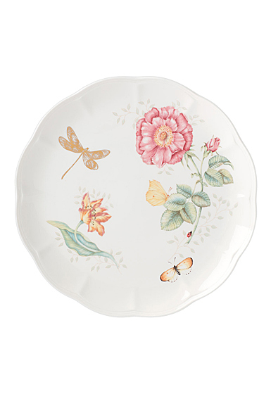 Lenox Butterly Meadow Gold Dinnerware Dragonfly Dinner Plate Gold