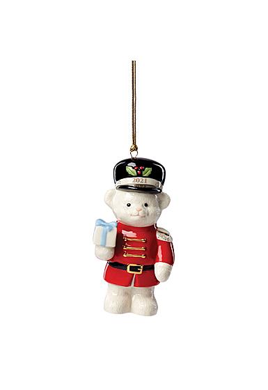 Lenox 2021 Teddy Bear Nutcracker Ornament
