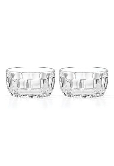 Kate Spade New York, Lenox Park Circle Clear Mini Bowls Pair