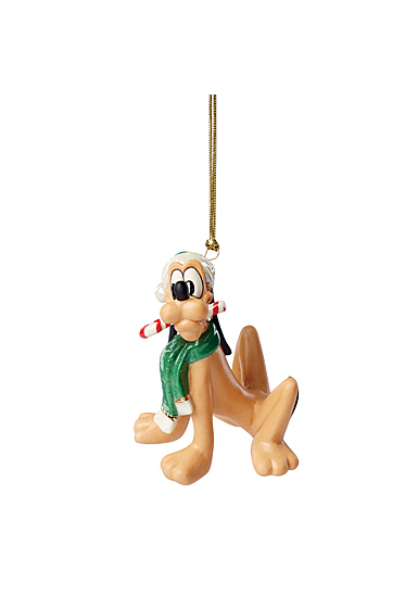 Lenox 2021 Disney Pluto with Treat Ornament