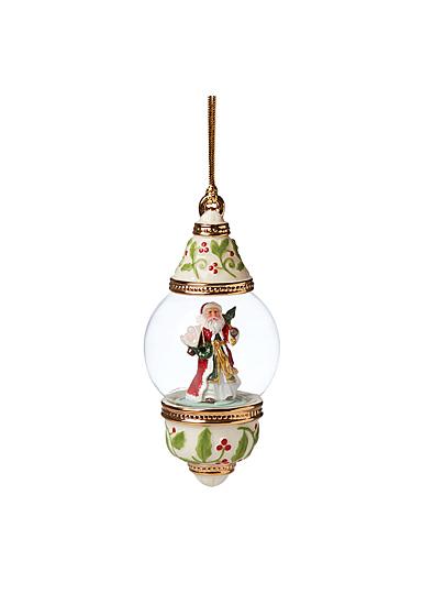 Lenox 2021 Globe Ornament Santa
