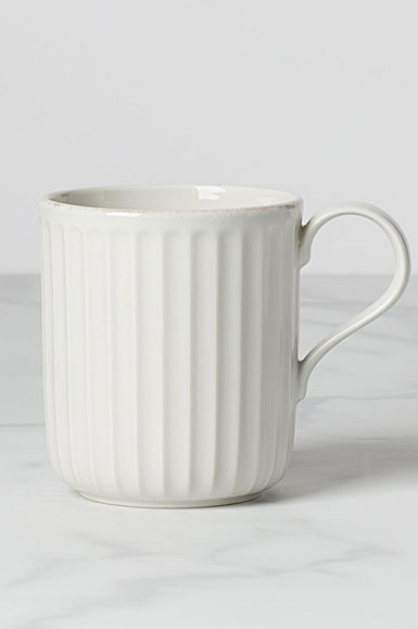 Lenox French Perle Scallop Mug, Single