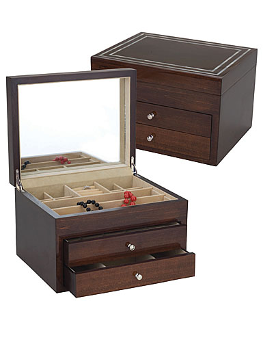 Reed and Barton Mother of Pearl Jewelry Chest