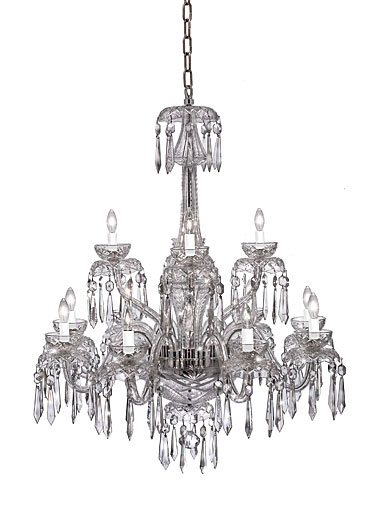 Waterford Chandelier Collection - Powerscourt 12 Arm