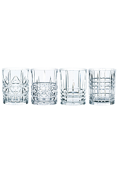 Nachtmann Highland Whiskey, Set of Four