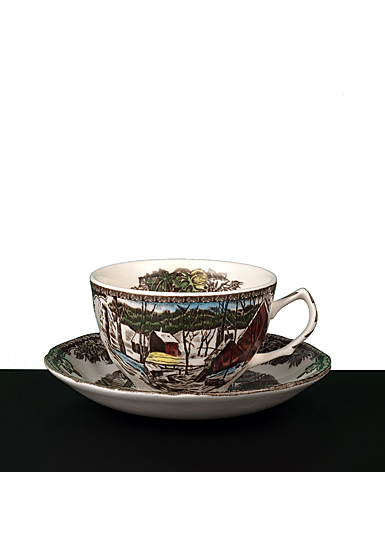 Johnson Brothers Friendly Village Teacup 7oz., Single