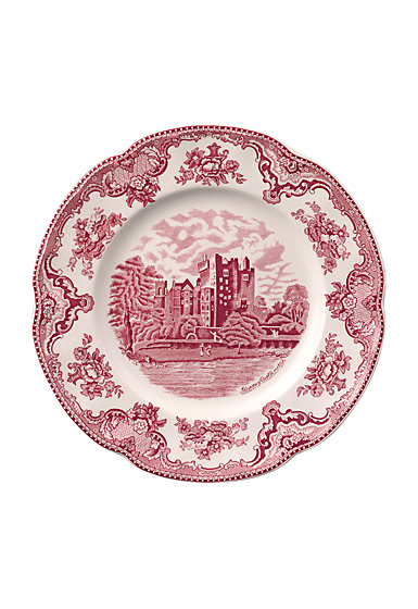 """Johnson Brothers Old Britain Castles Pink Dinner Plate 10"""", Single"""