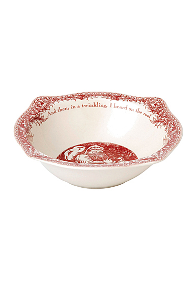 Johnson Brothers Twas The Night Open Vegetable Round Bowl, Single
