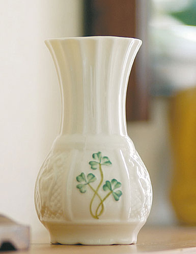 Belleek China Nadine Spill Vase
