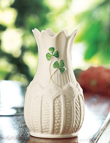 Belleek China Mini Cashel Vase