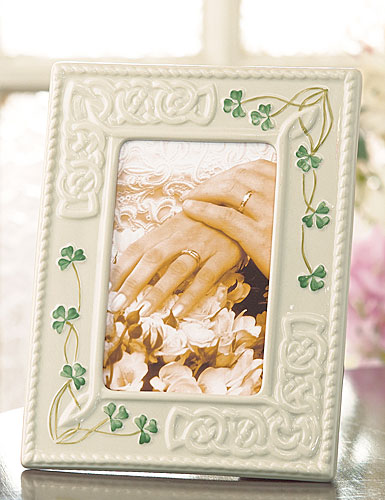 "Belleek China Tara 4x6"" Frame"