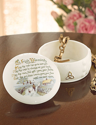 Belleek China Irish Blessing Gift Box