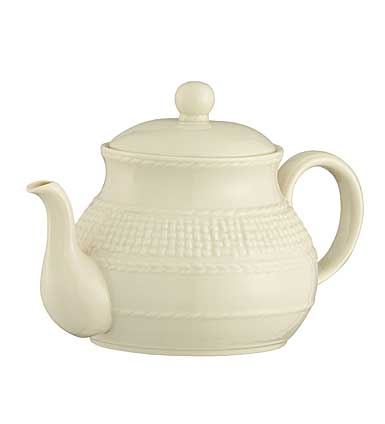 Belleek China Galway Weave Beverage Pot