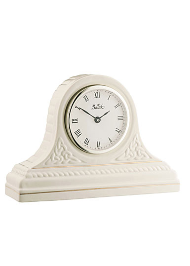 Belleek Masterpiece Collection Celtic Mantel Clock
