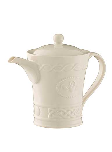 Belleek China Claddagh Beverage Pot