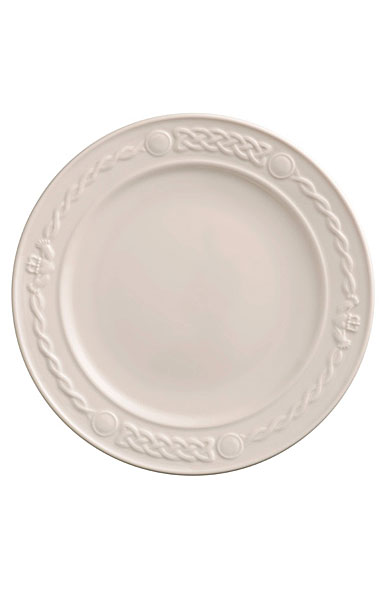 Belleek China Claddagh Dinner Plate, Single