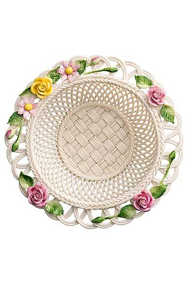 Belleek China Rose Gerbera Basket