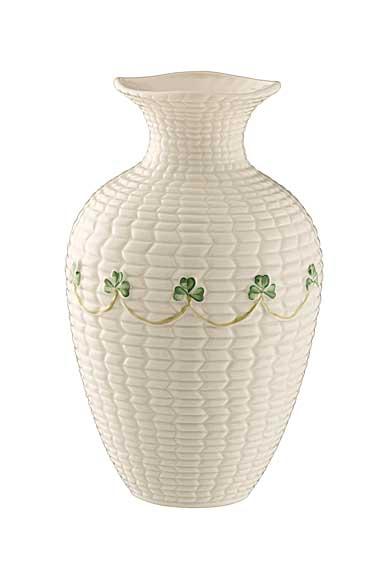 """Belleek China Braid 8"""" Vase"""