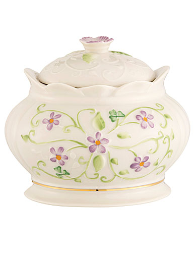 Belleek China Irish Flax Gift Box