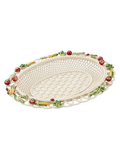 Belleek Kitchen Garden Annual Basket, Limited Edition
