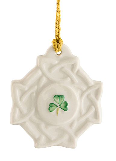 Belleek China Celtic Knot 2019 Ornament