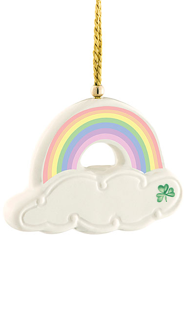 Belleek China 2019 Rainbow Ornament