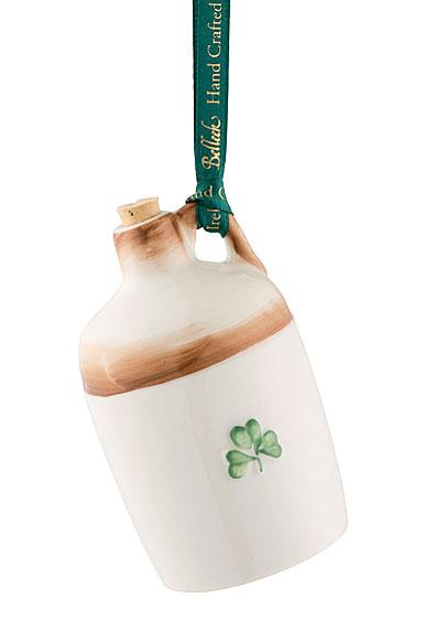 Belleek Irish Jar Ornament