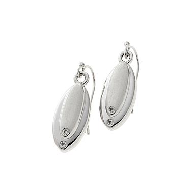 Belleek Living Jewelry Droplet Earrings, Pair