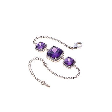 Belleek Living Jewelry Amethyst Bracelet