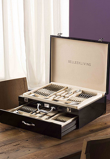 Belleek Living Flatware Occasions 72 Piece Cutlery Set