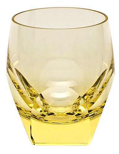 Moser Crystal Bar DOF Tumbler, Eldor Yellow, Single