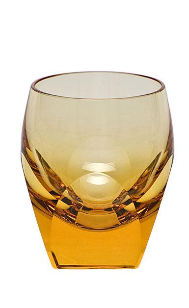Moser Crystal Bar Shot Glass 1.5 Oz. Topaz