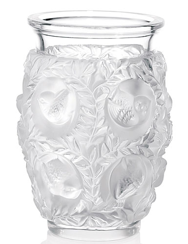 lalique crystal bagatelle crystal vase - Lalique Vase