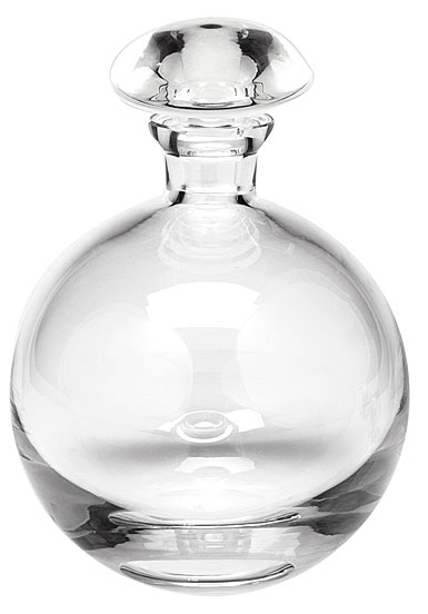 Moser Crystal Culbuto Decanter 32 Oz. Clear