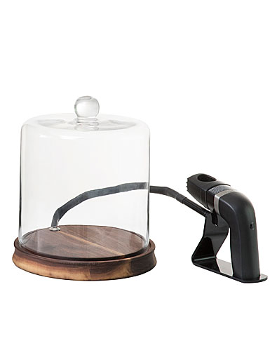 Crafthouse by Fortessa Glass Smoke Cloche with Smoker and Chips