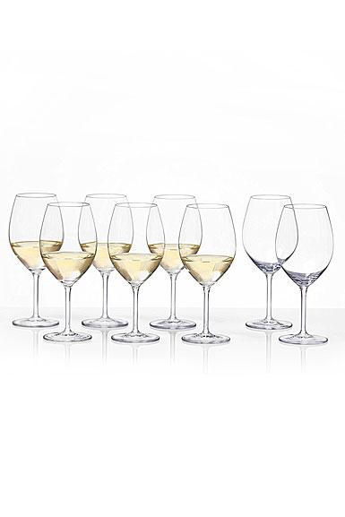 Schott Zwiesel Tritan Crystal, Cru Classic Full White Wine Set 6 + 2 Free