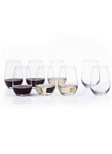 Schott Zwiesel Universal Stemless Wine Glasses Set 6 + 2 Free