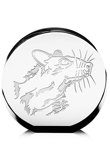 Steuben Chinese Zodiac Rat