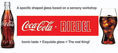 Coca-Cola and Riedel