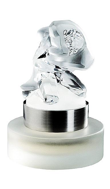 Lalique Perfume Pour Homme Lion 30ml Crystal Eau de Perfume 2009 Limited Edition Atheletes