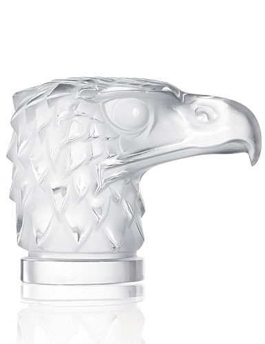 Lalique Eagle Head Paperweight